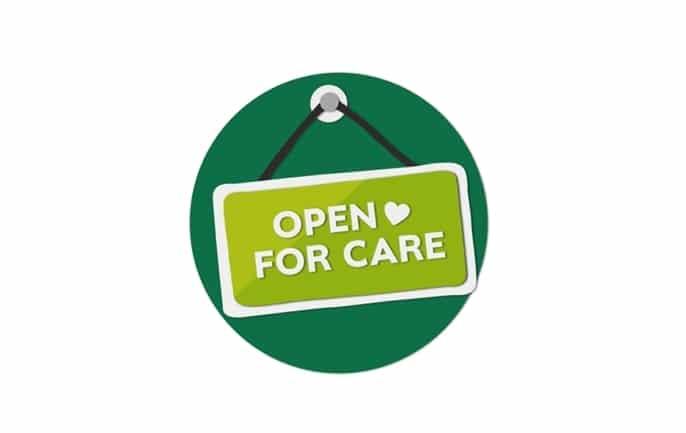 Lockdown 'Open for Care' communications win award